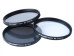 K&F Concept UV+POL+ND4 Filter Kit 72MM
